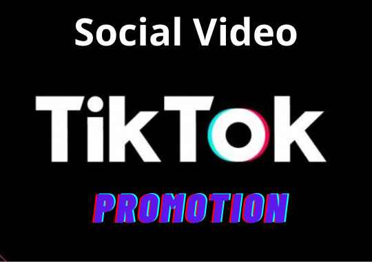 High Quality Tiktok video Promotion and Marketing Boost your Video Ranking