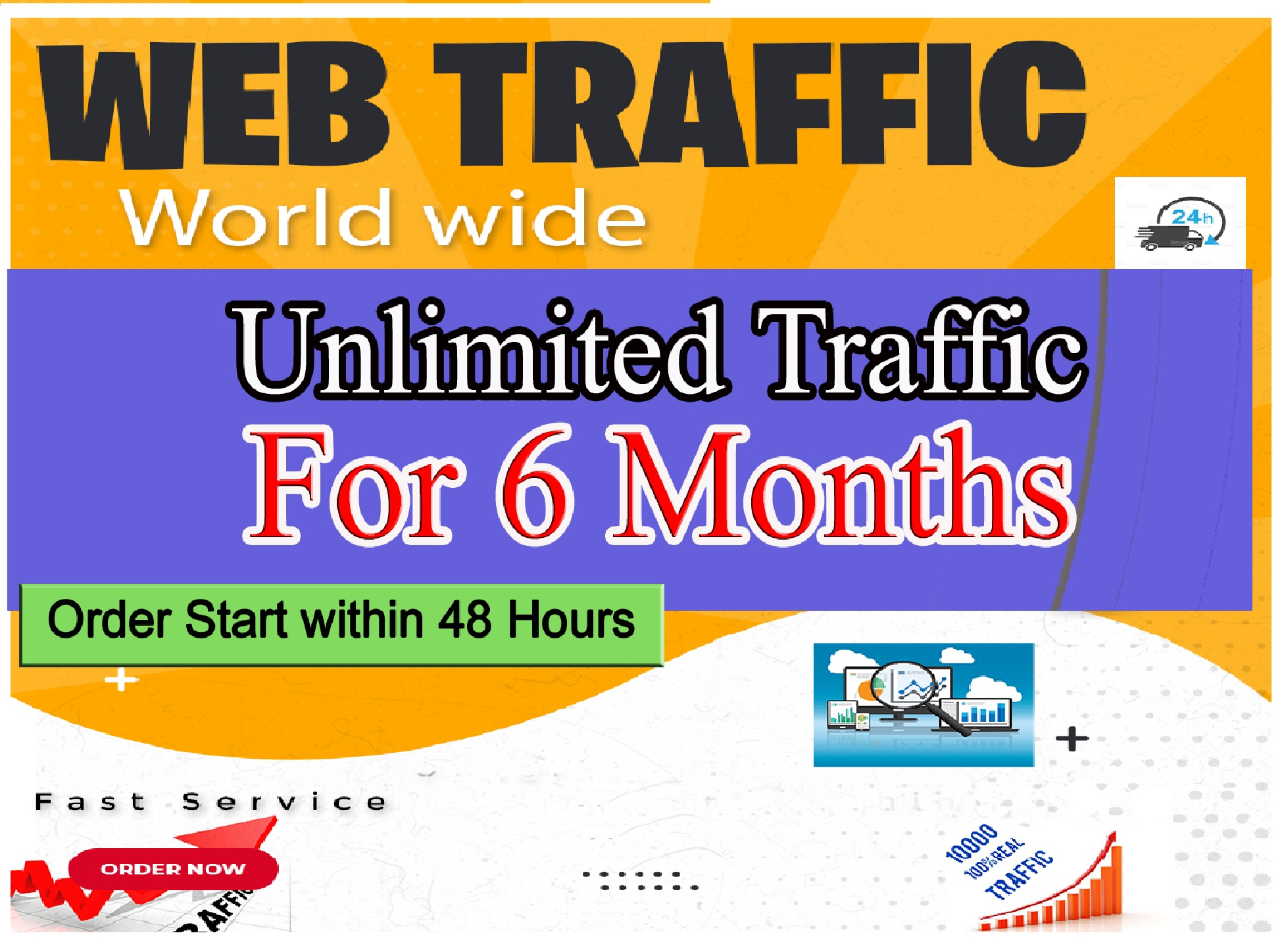 Genuine real Website Traffic for 6 months Only Real Visiters Serious Buyers only