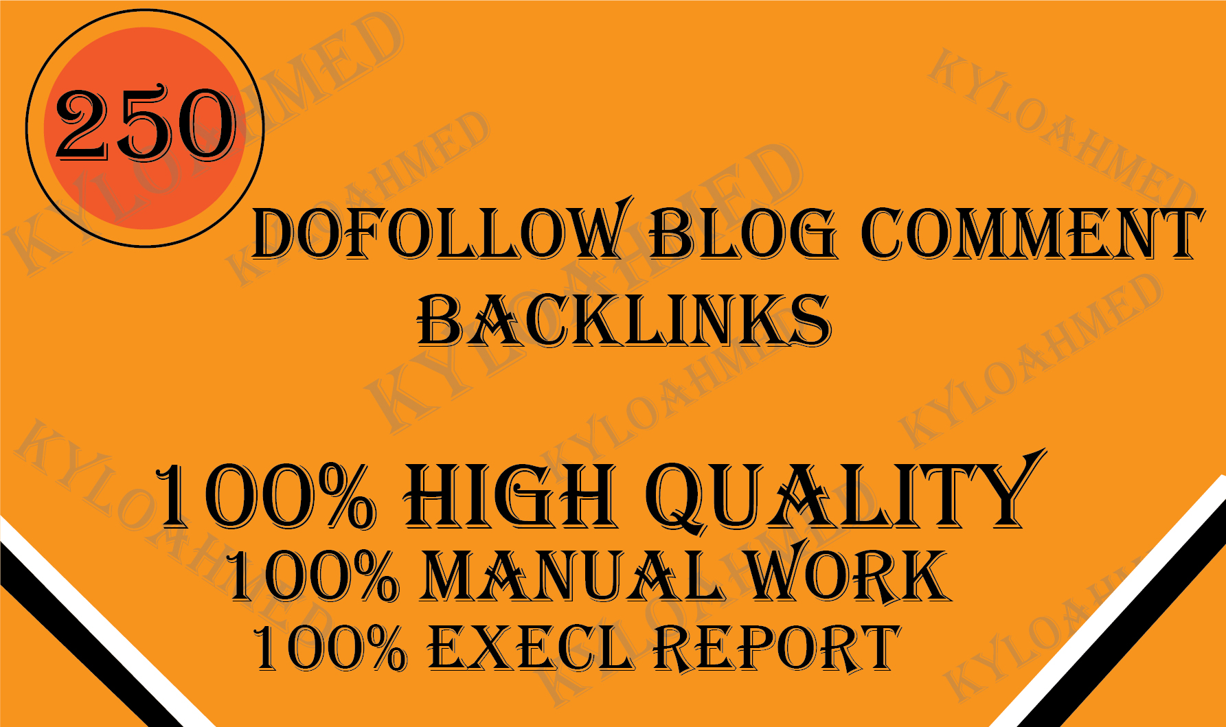 I will provide 250 dofollow blog comment high quality backlinks