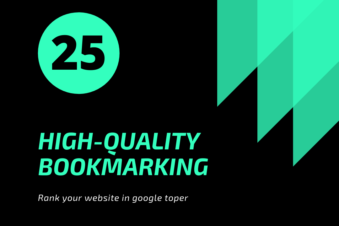 Bookmark 25 - DA40-100-Backlink 25 Google Top High DA PA Site