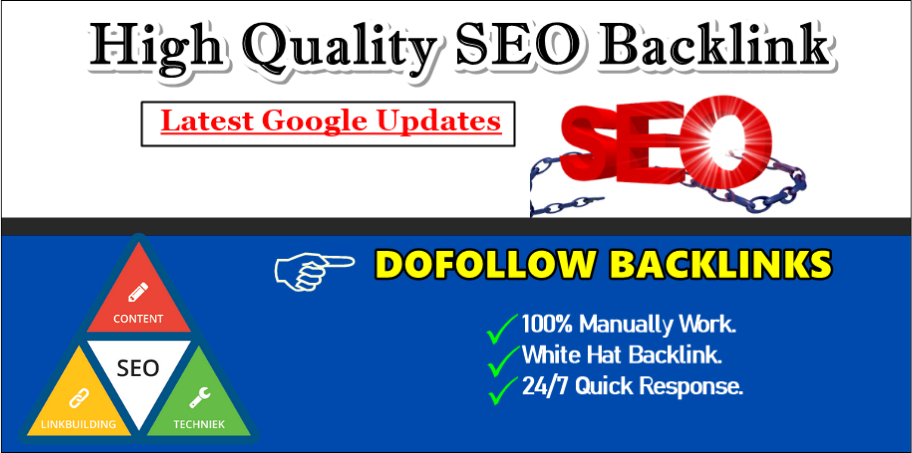 Professionally Create 50 SEO Backlink Manual Link Building