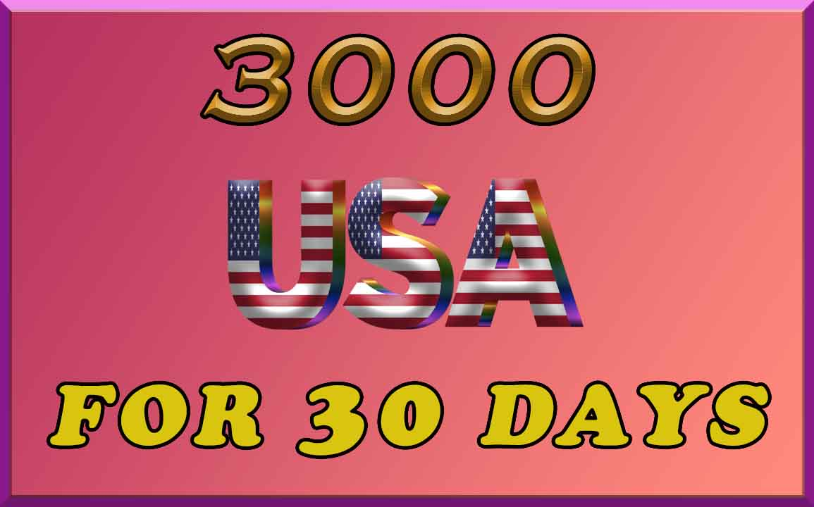 Real,  Organic 3000 USA visitors for 30 days for your Website/Blog