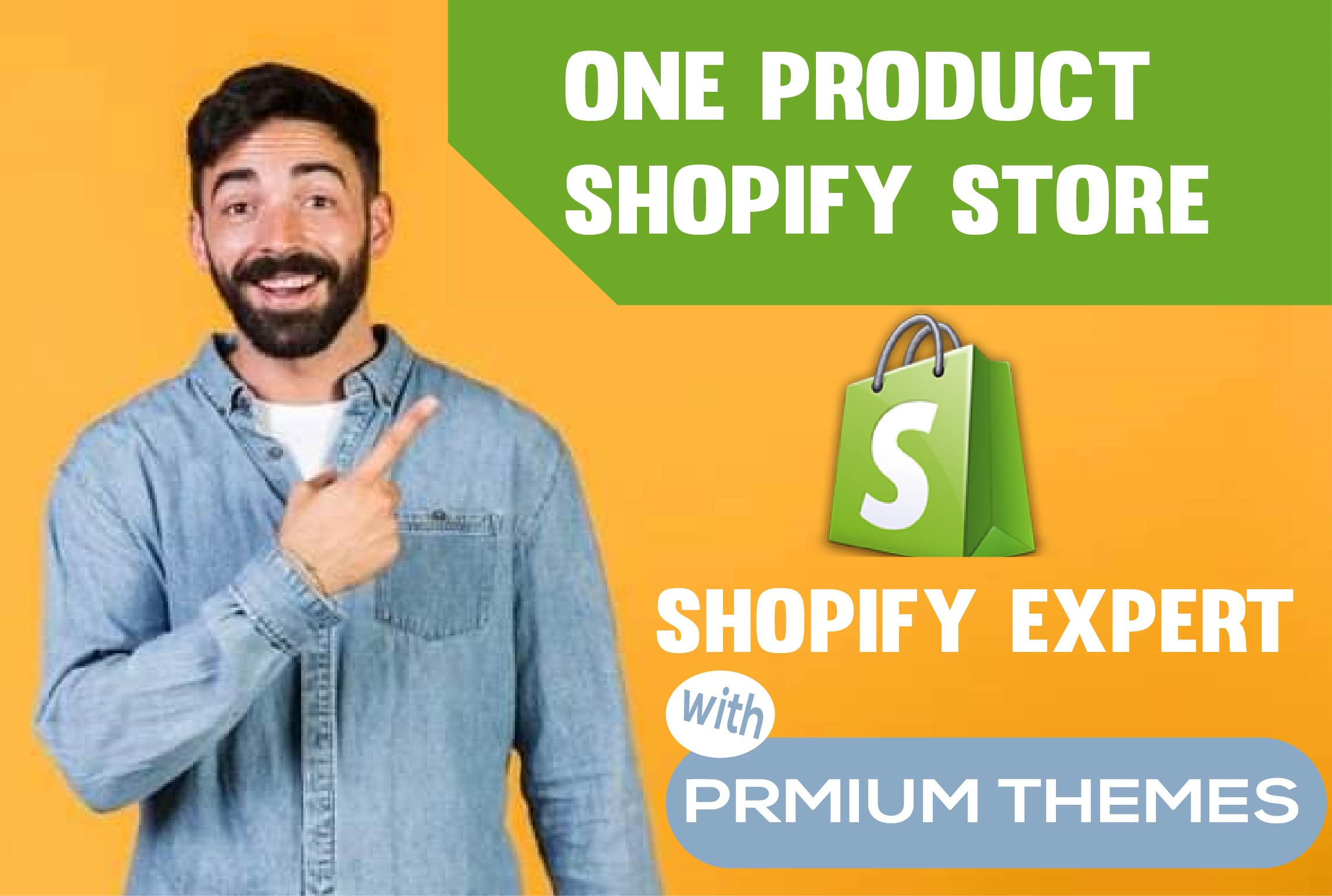 I will create shopify store,  dropshipping store with winning products