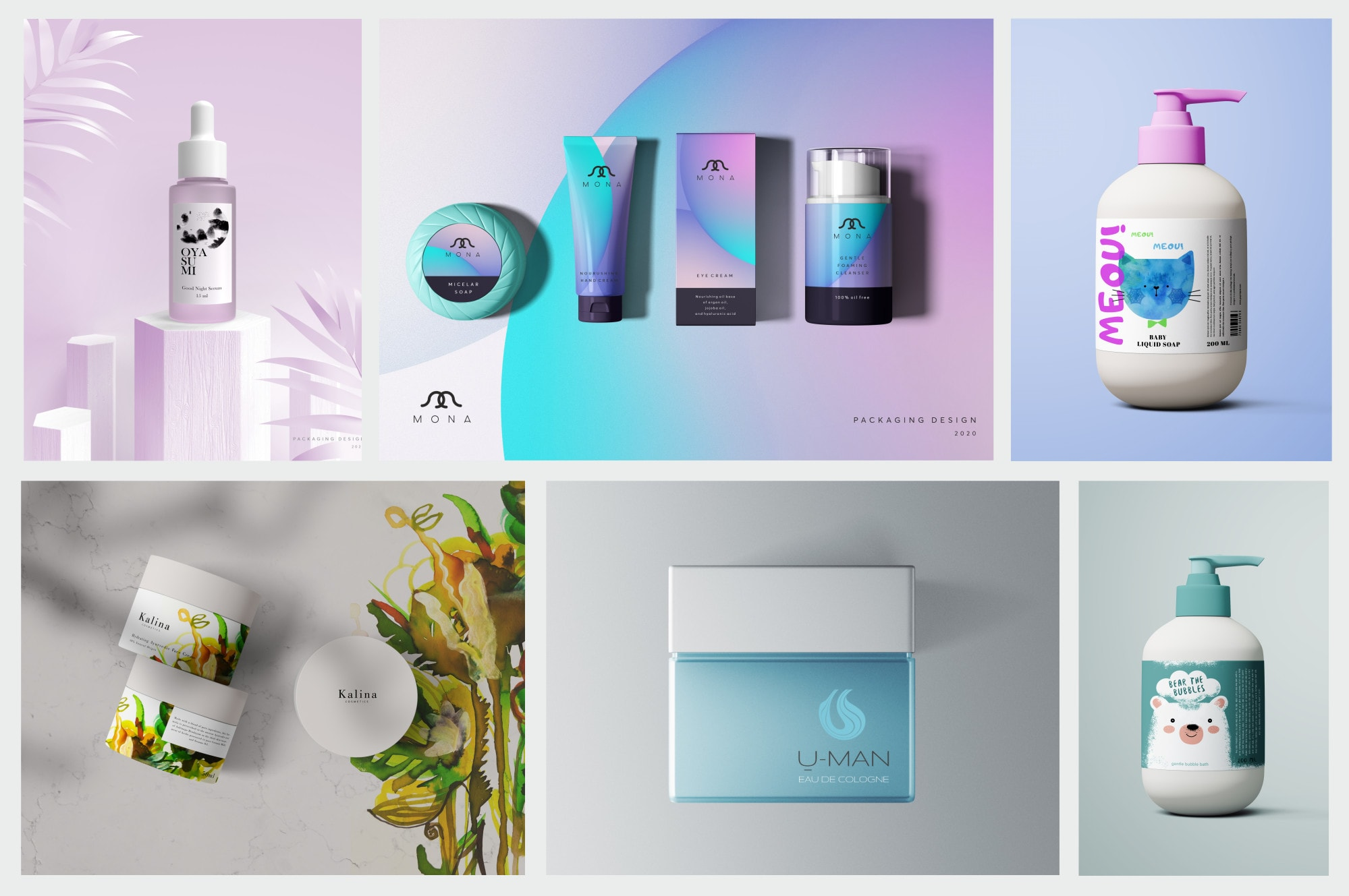 I will design modern packaging and label design for your brand