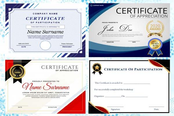 I will design amazing formal,  custom certificate