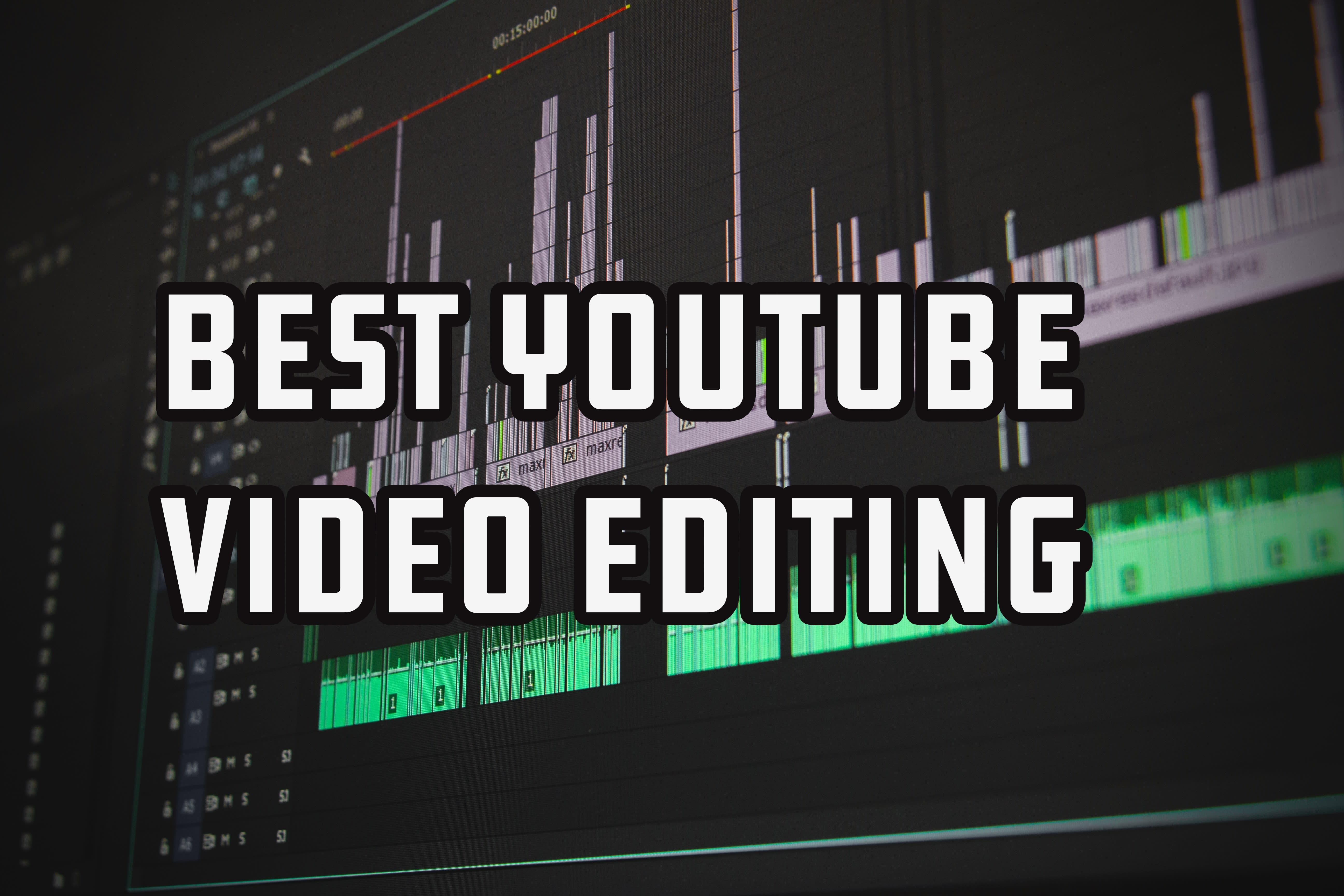 I will do youtube video editing