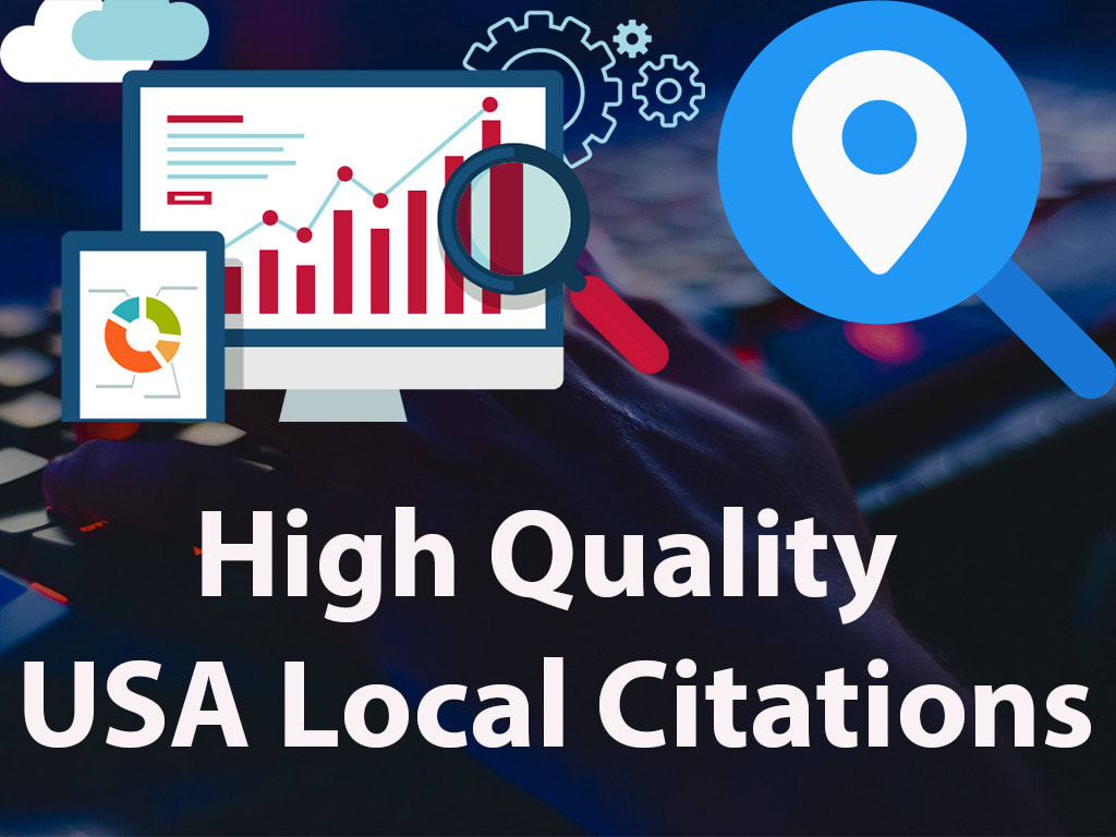 I will do USA local citations to improve local search rankings 100