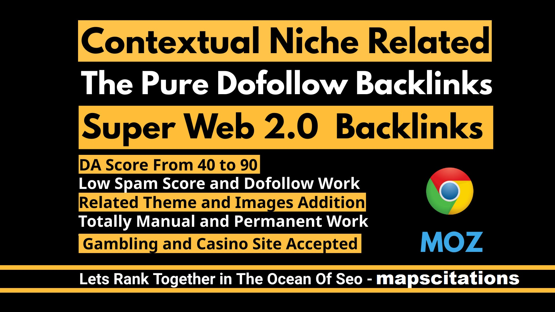 Rank with 50 web 2.0 dofollow Backlinks