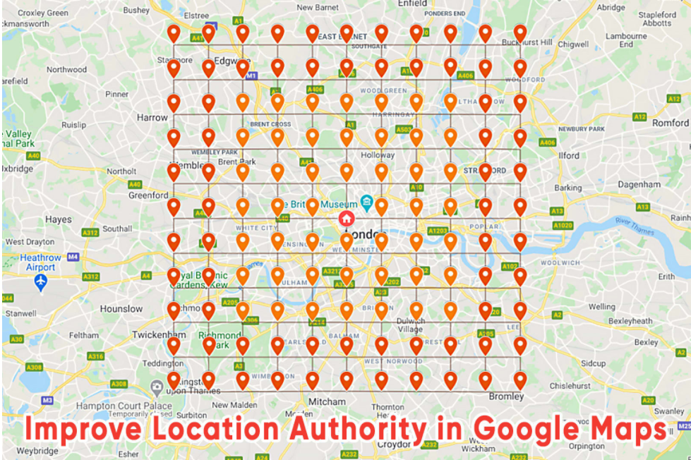I will power up google local SEO and gmb local business maps listing