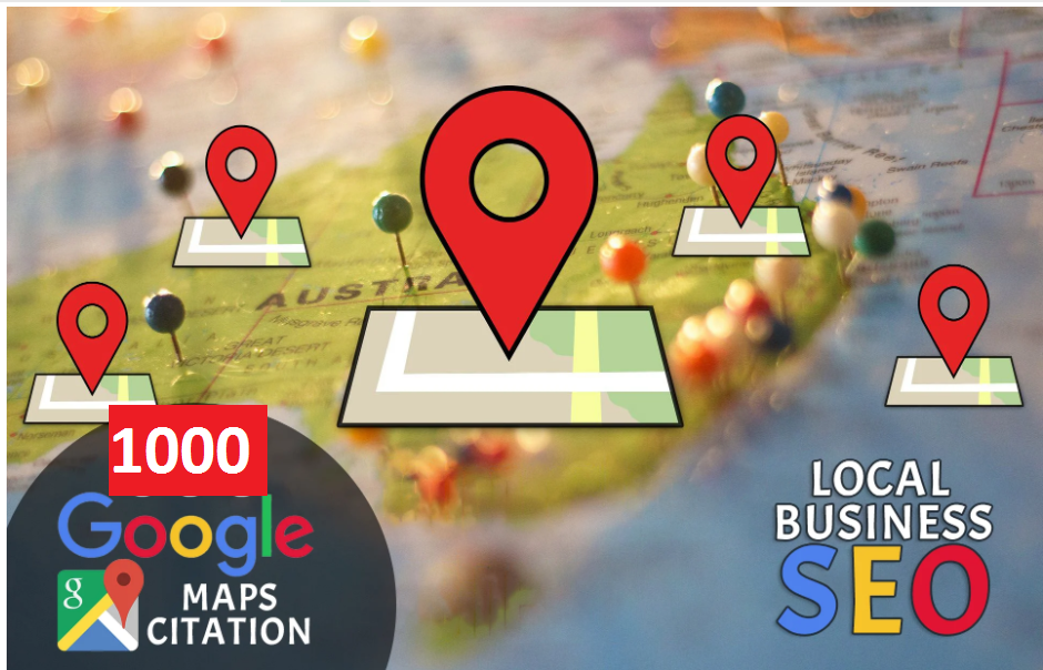I will escalate traffic on local business with 1k google maps citation