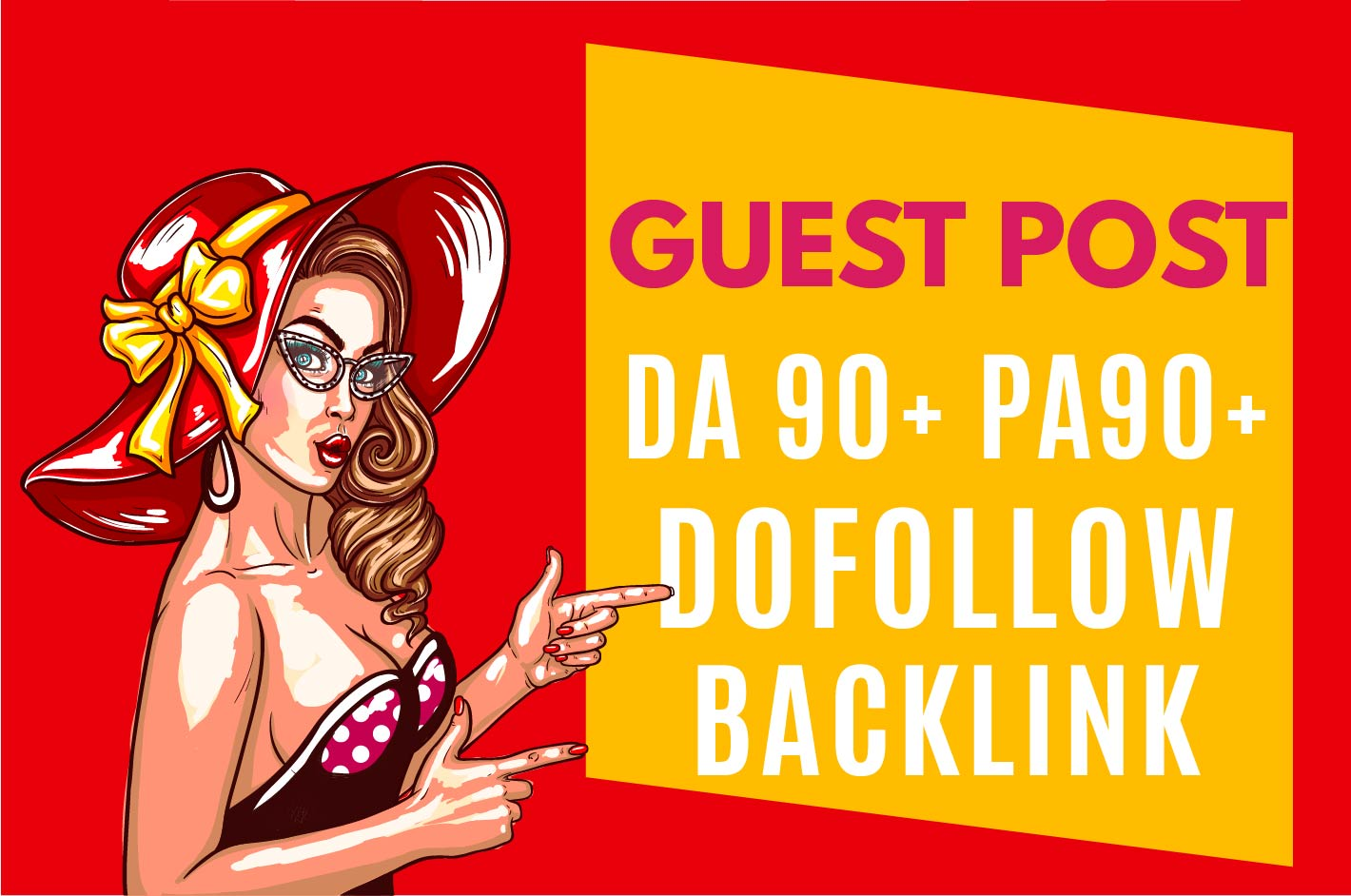 I will publish guest post on da90 site