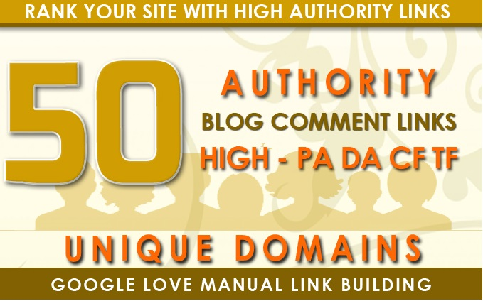 I will do 50 high quality dofollow blog comments backlinks