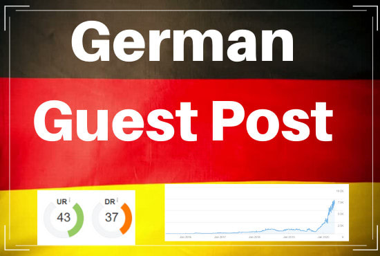 Write And Publish A German Guest Post With Do-Follow Backlinks With Indexed Post