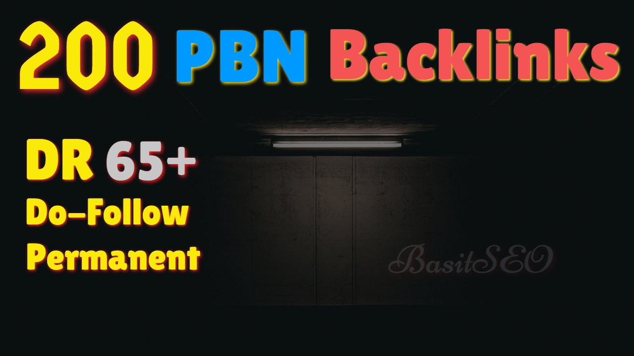 200 Permanent DR 81+ Homepage High Quality PBN Backlink
