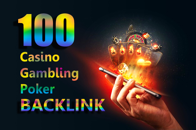 100 Permanent All DA 50+ Casino Poker Gambling Homepage PBN Backlinks