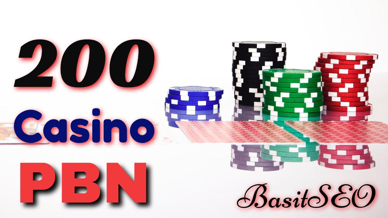 200 Homepage DA/DR 70+ PBN Backlinks Casino,  Poker,  Judi Related Websites