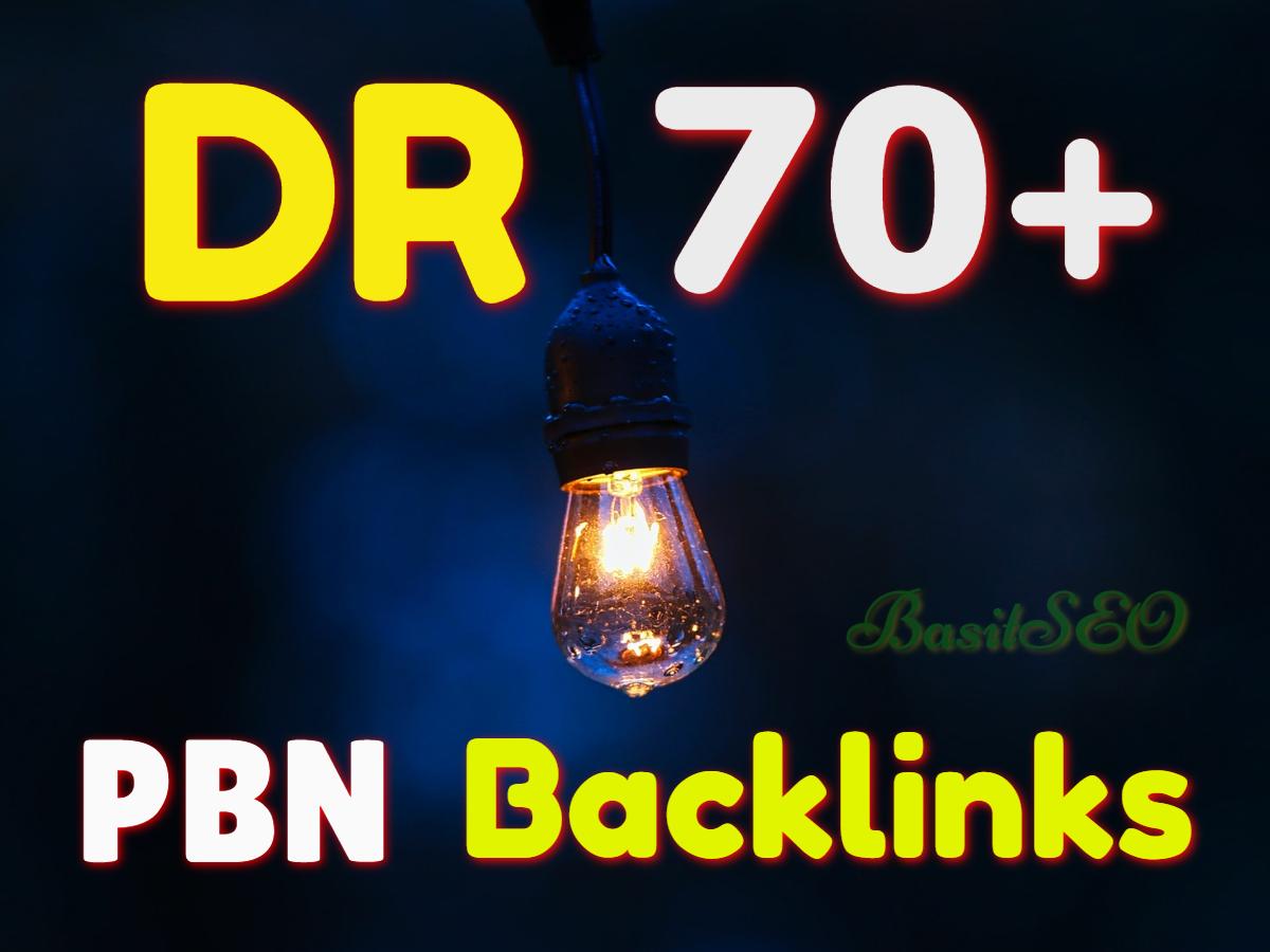Buy 2 Get 1 Free 300 Permanent DR 70 Homepage PBN Backlink