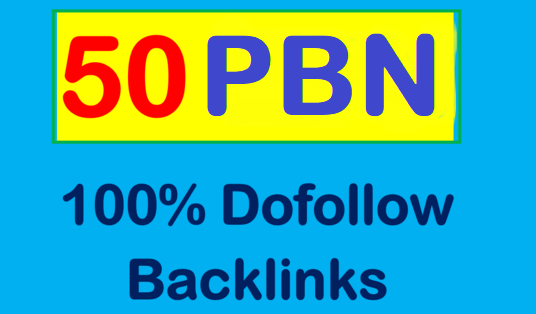 Provide you 50 Permanent Manual High DA 55+ PBN Backlinks