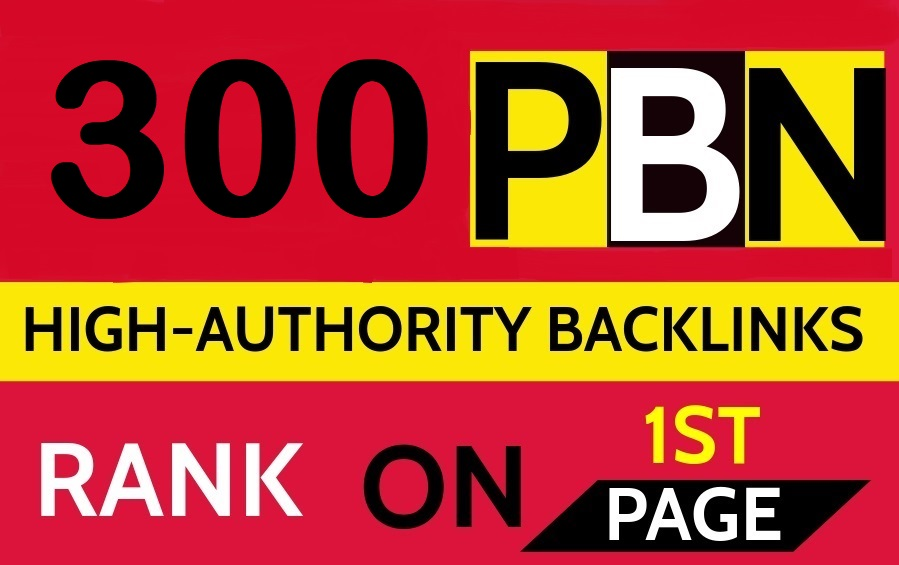 Create 300 Permanent DR 66 Homepage high quality PBN Dofollow Backlink