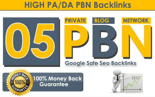 Provide you 5 Permanent Manual high DA 58+Dofollow PBN Backlinks