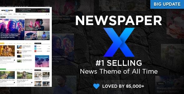 Themeforest Newspaper V 10.3.6 WordPress theme