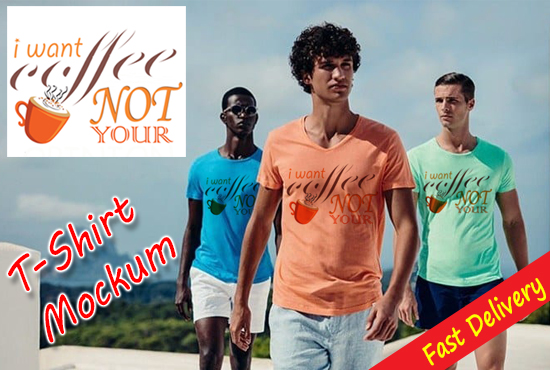 I will Make Nice T-shirt Mockup Design