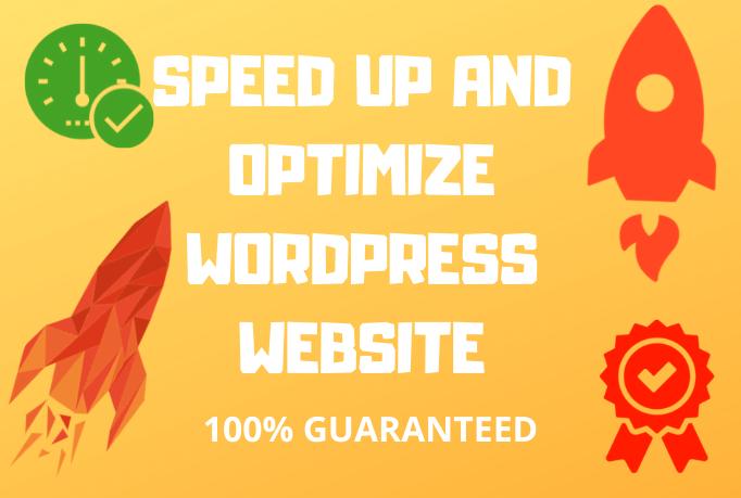 Professionally do WordPress speed Optimization with Gtmetrix