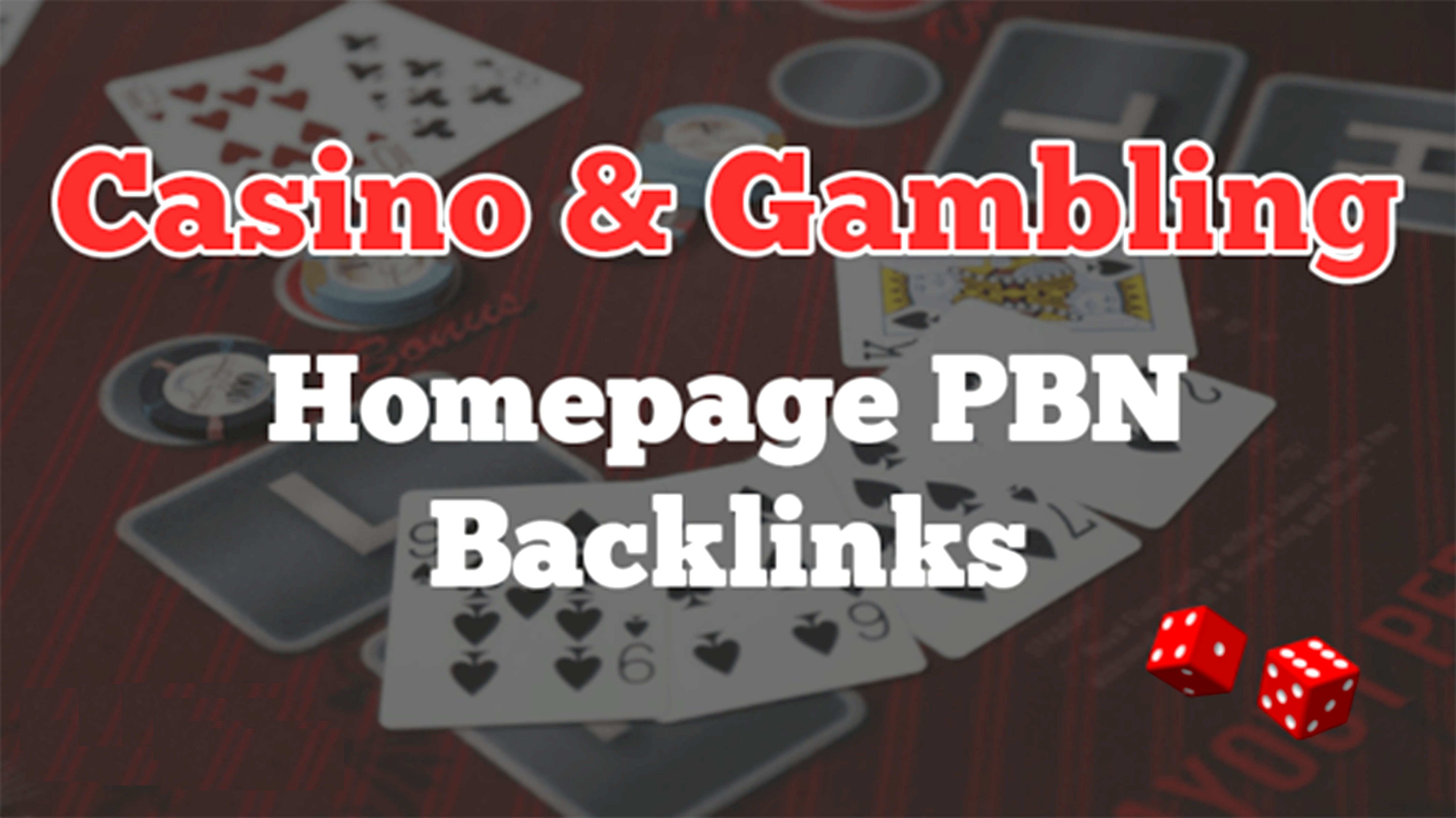 150 Casino, Poker, Gambling High Quality Homepage Pbn Backlinks on high authority websites