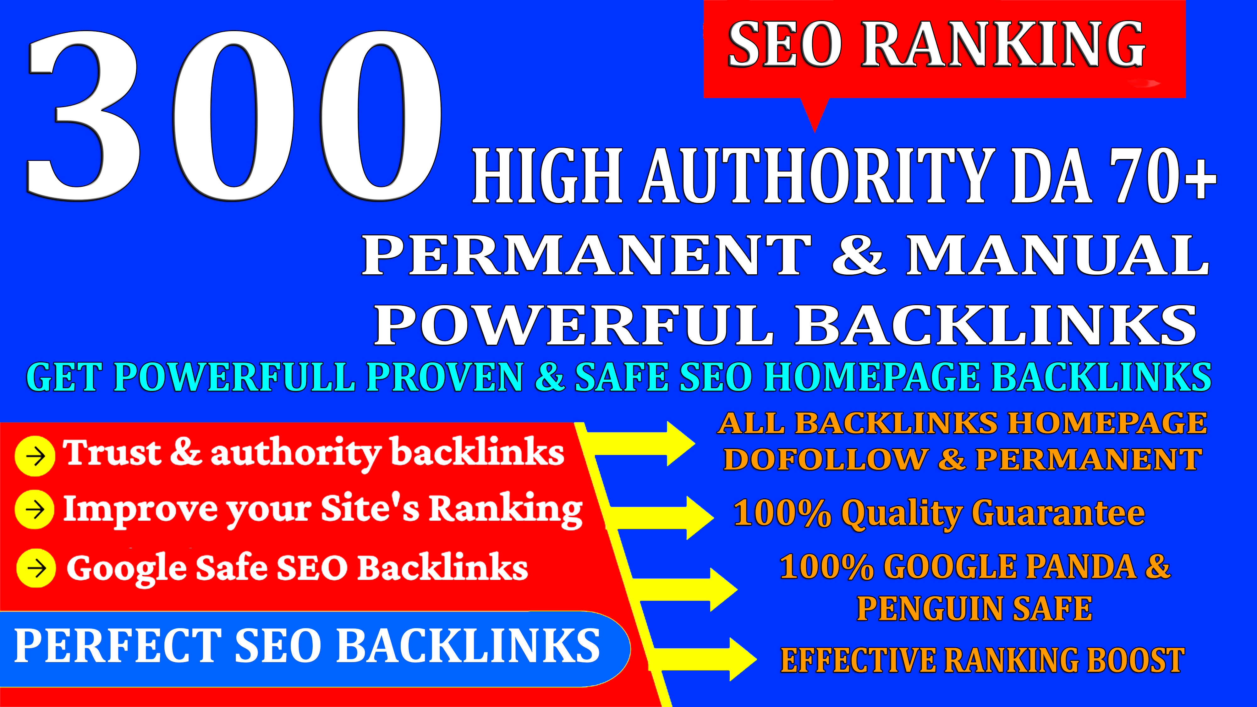 Get Powerfull 300 Web2.0Homepage Backlink High DA/PA With Unique Website & Ranking Your Website