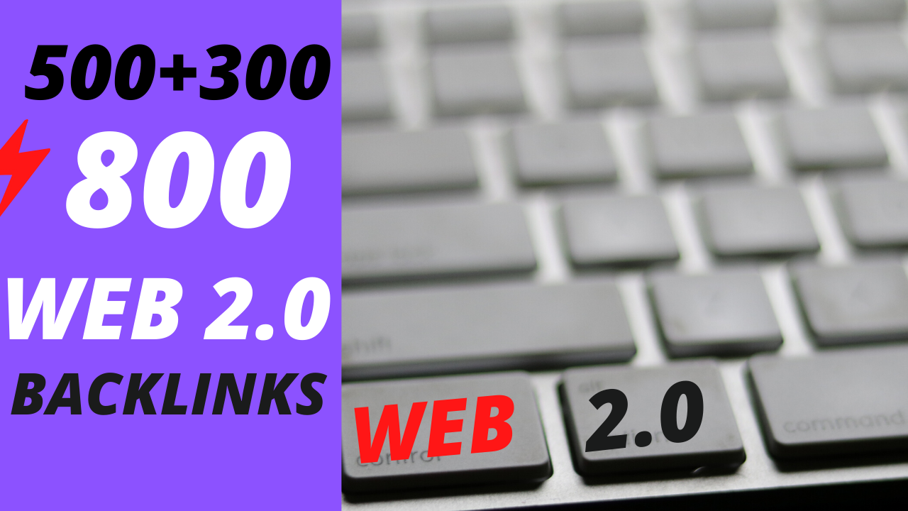800 web 2.0 profile backlinks for google rankings