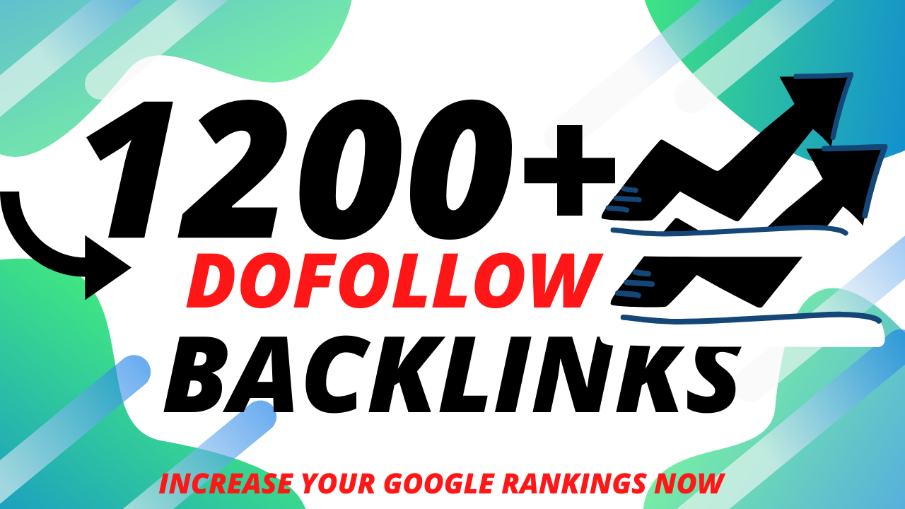 i will built 1200+ dofollow profiles,  contextual backlinks to increase your rankings