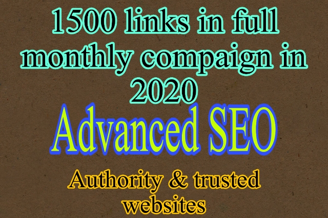 2020 skyrocket your site ranking full monthly compaign 1500+ links in the campaign results