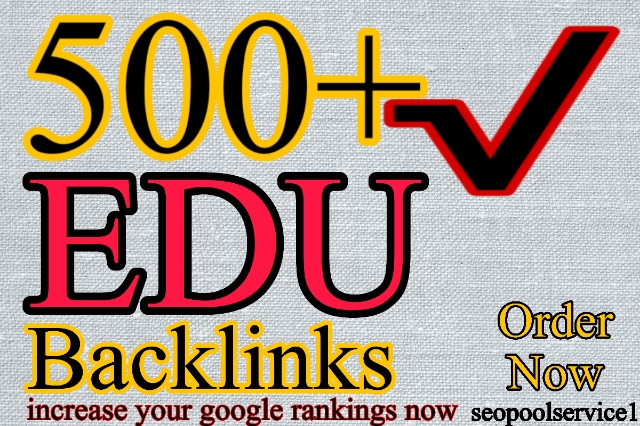 500+ Edu Backlinks with high trust authority safe link building seo backlinks