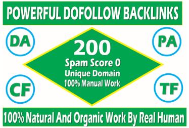 Get Extreme 200+PBN Backlink in your website hompage with HIGH DA/PA/TF/CF with unique website