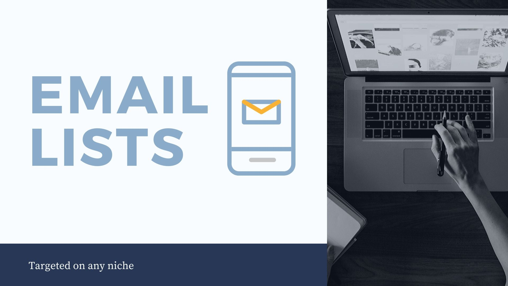 I will Provide you email list on any targeted niche