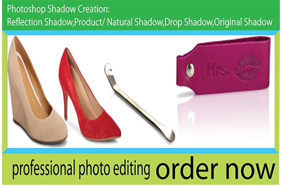I will high quality natural shadow,  background remove or cut out 60 image