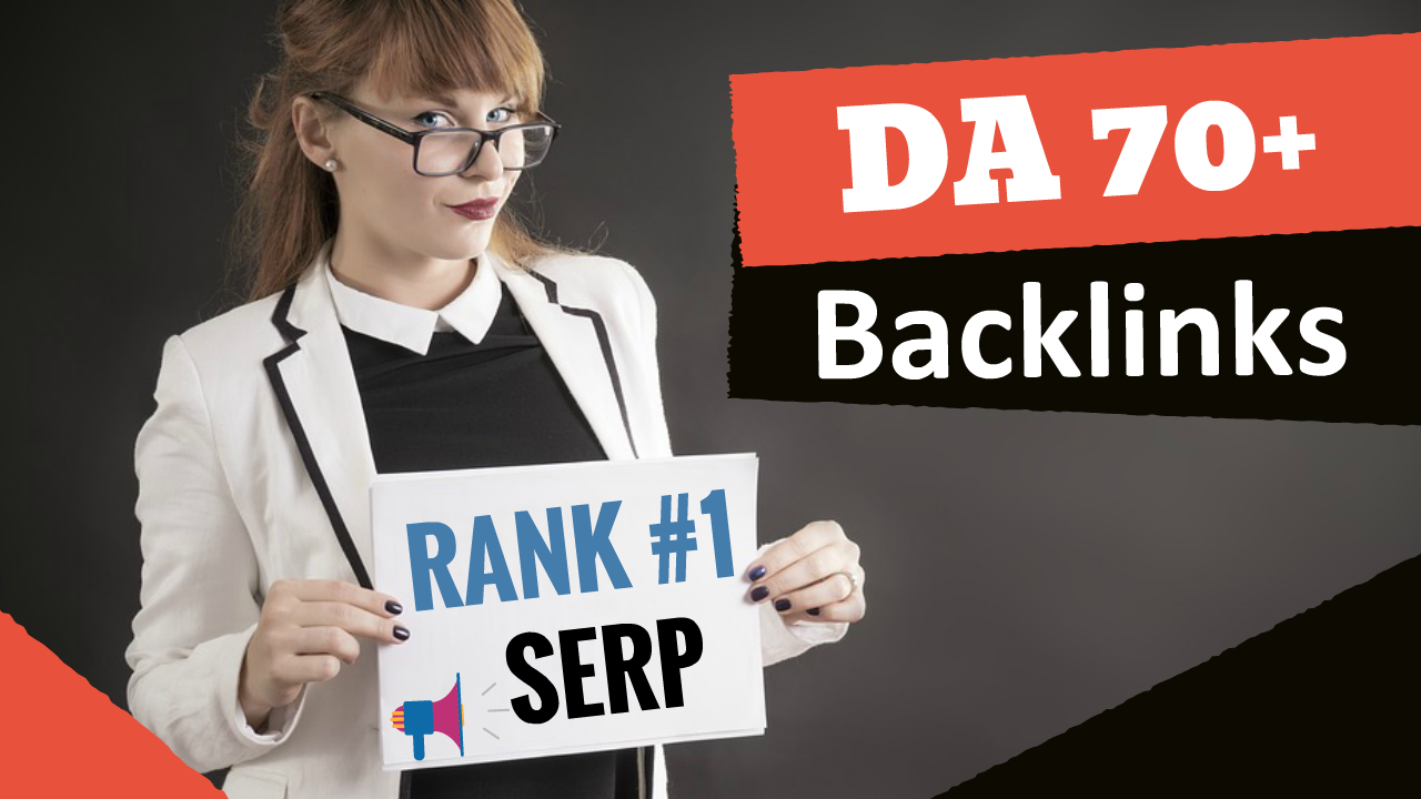 I will create da70 pr9 high authority dofollow backlinks
