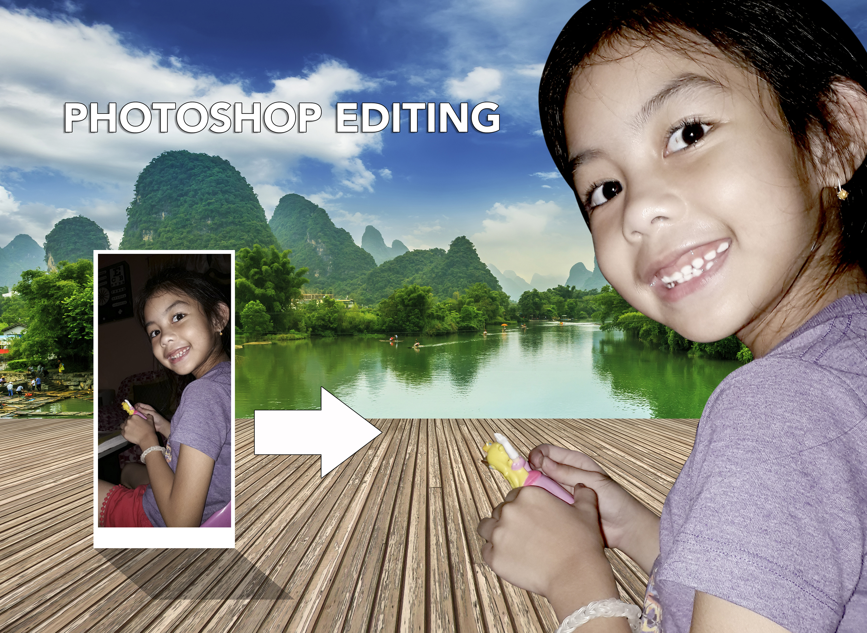 I will do any photoshop work and editing