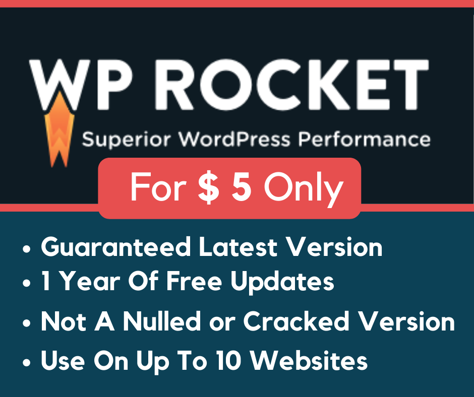 WP Rocket Caching Plugin For WordPress Money Back Guarantee