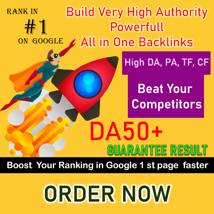 creating High Authority Unique Do-follow Backlinks DA-30+ Domain