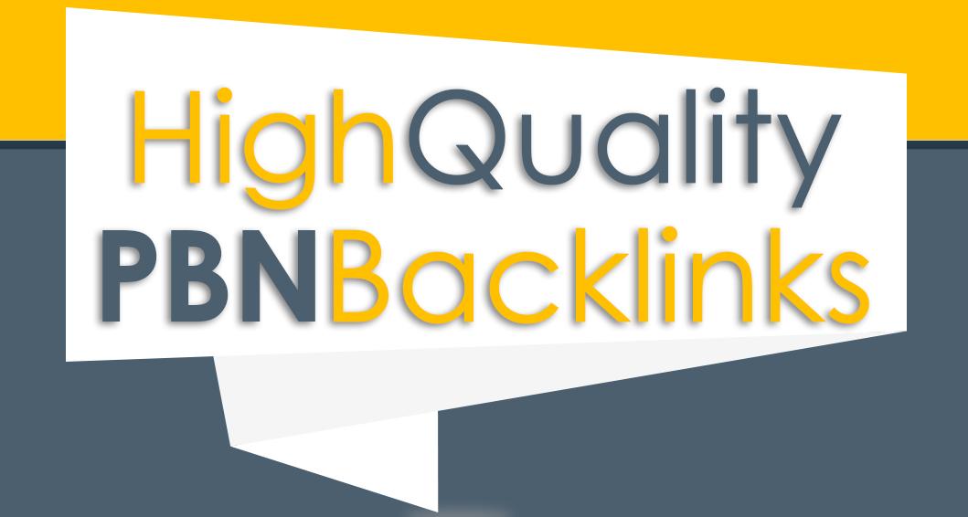 I will create 50 homepage pbn backlink high quality