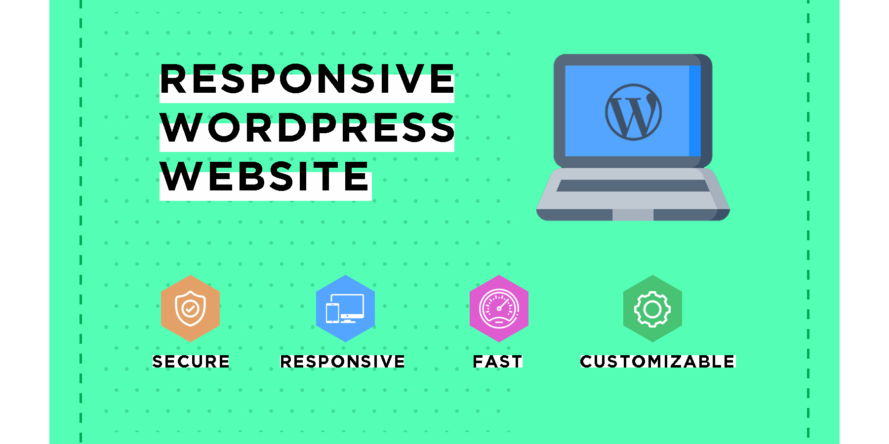I will create Responsive Wordpress Website for your Business