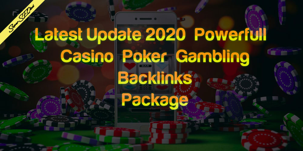 Rank Your Casino,  Gambling,  Poker,  Betting Site With Related High Quality Backlink Package