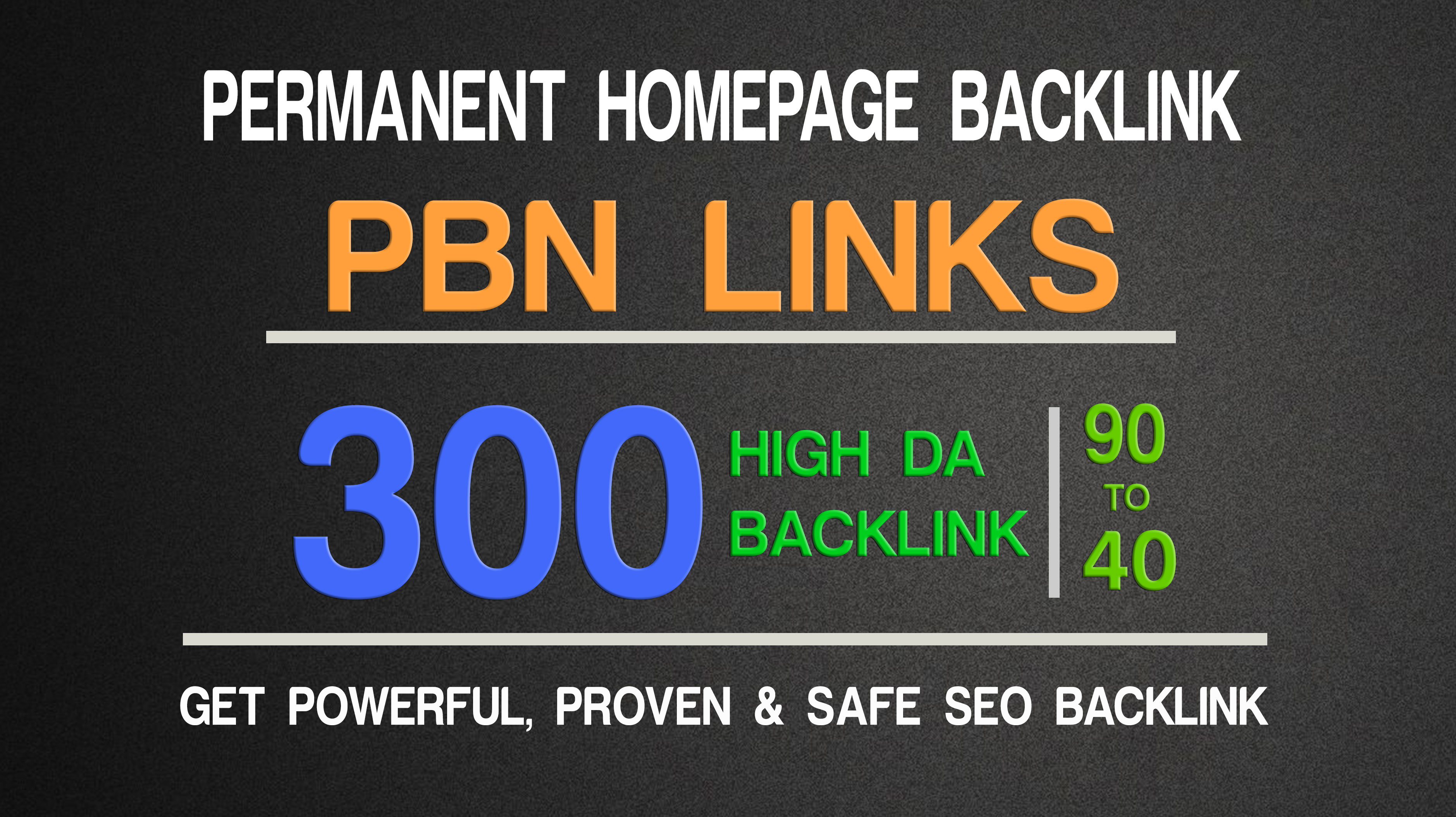 Get Powerfull 300 PBN parmanent Backlink with High DA/PA on your Homepage with unique website