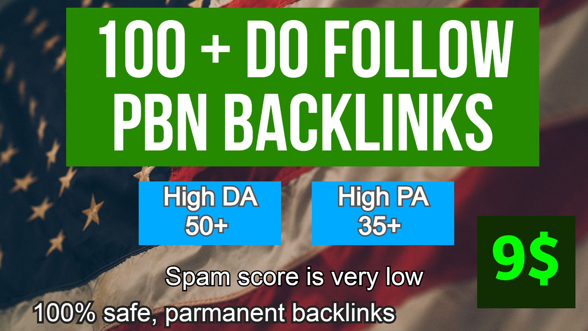 Powerful 100+ Backlink with 50+ DA 35+ PA High Quality unique website link. GET IT NOW
