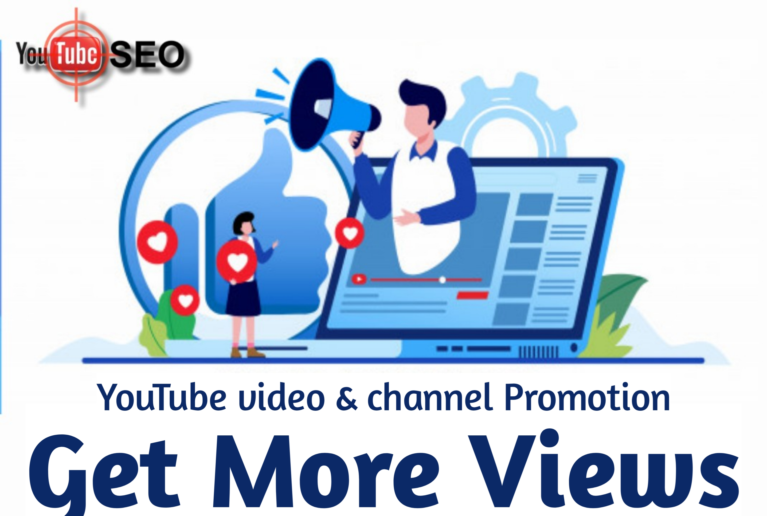 I will promote your YouTube video and also rank on the first page