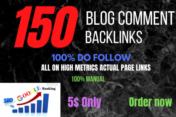 I Will Build 150 High Quality Dofollow SEO Backlinks Link Building Google Top Ranking