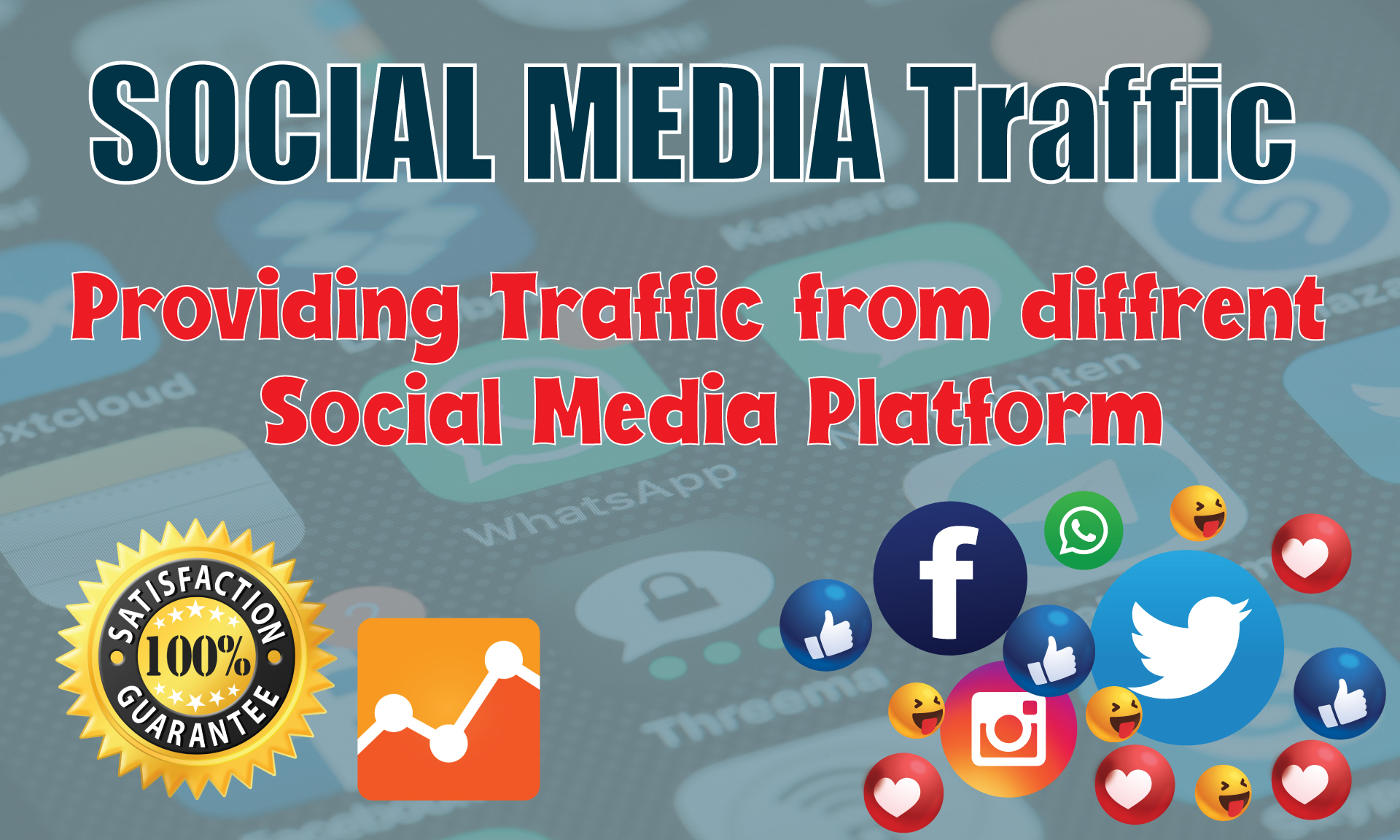 I will drive real human visitors targeted traffic