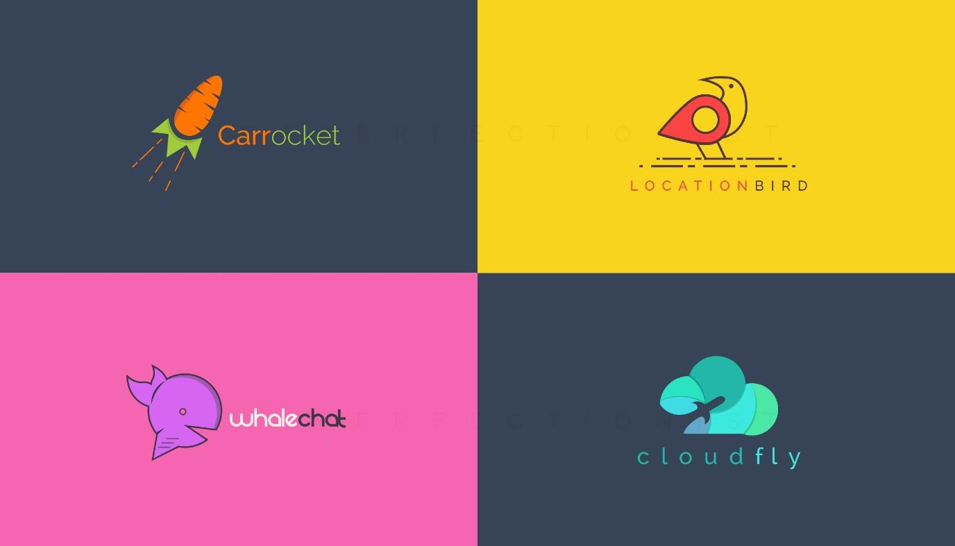 will design modern minimalist logo