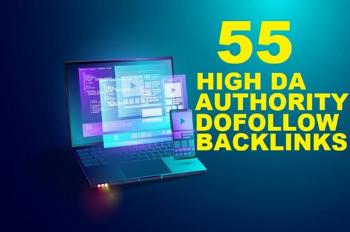 I will do 55 dofollow SEO link building backlinks